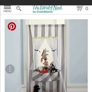 The Land of Nod doorway puppet theater